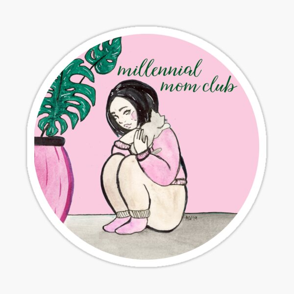 Millennial Mom Club Sticker
