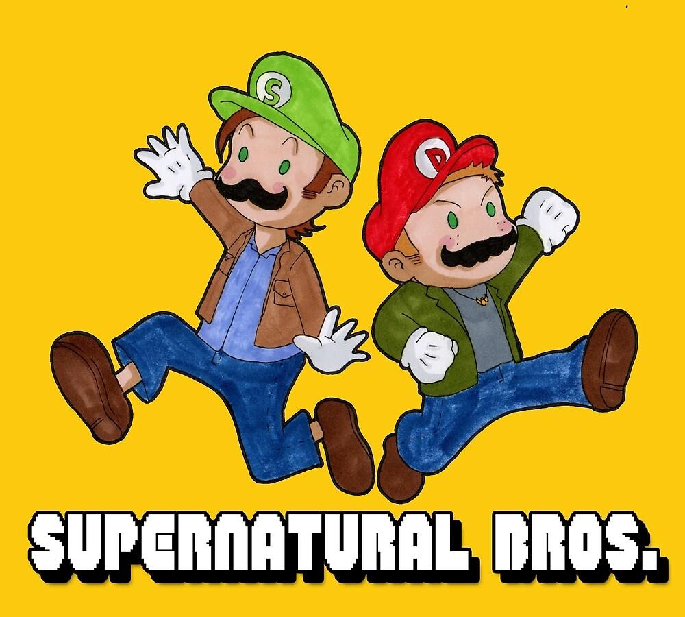 Supernatural Bros. by Kosherart