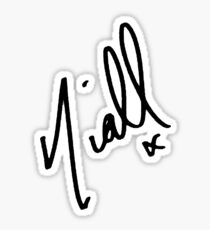 Niall Horan Signature  Sticker