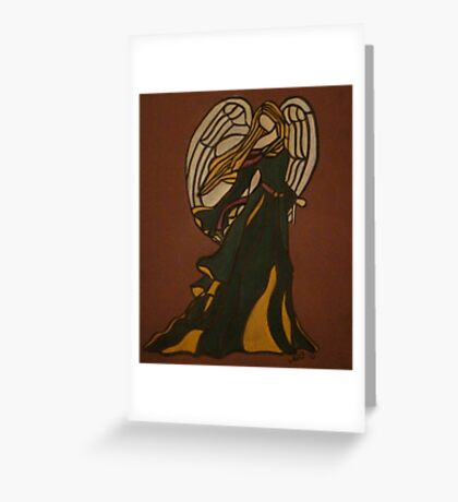 Adored - Christmas Angel Greeting Card