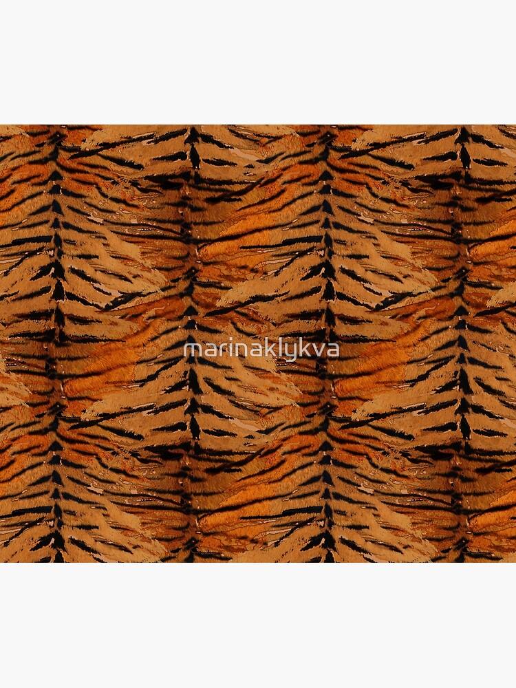 Tiger skin, stylish, tiger, striped, animal print. by marinaklykva
