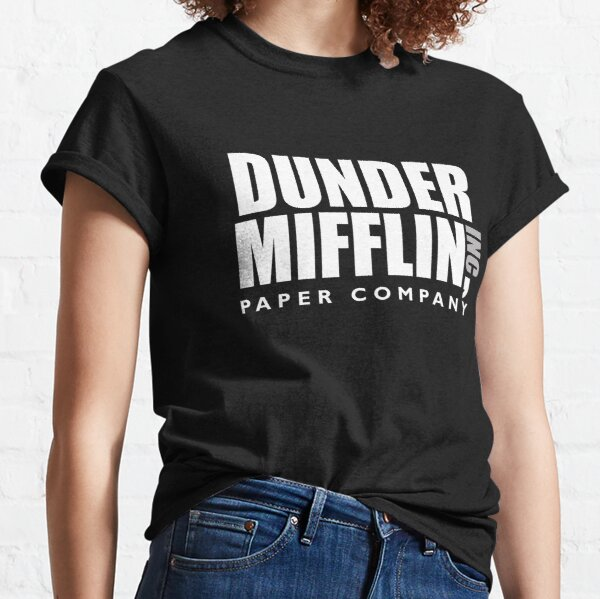 The Dunder Office Mifflin Inc. Design, T-Shirt, tshirt, tee, jersey, poster, Original Funny Gift Idea, Dwight Best Quote From Classic T-Shirt