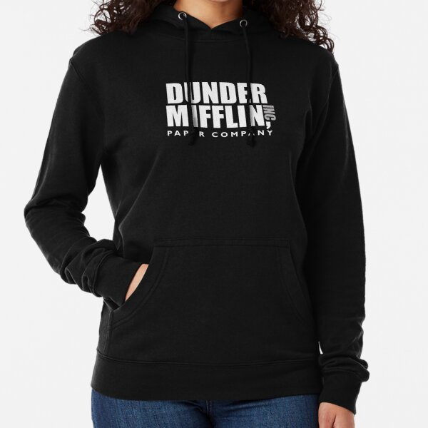 The Dunder Office Mifflin Inc. Design, T-Shirt, tshirt, tee, jersey, poster, Original Funny Gift Idea, Dwight Best Quote From Lightweight Hoodie