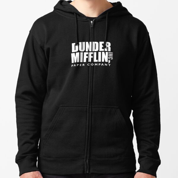 The Dunder Office Mifflin Inc. Design, T-Shirt, tshirt, tee, jersey, poster, Original Funny Gift Idea, Dwight Best Quote From Zipped Hoodie