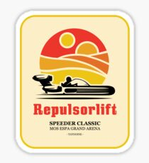 Speeder Classic Sticker