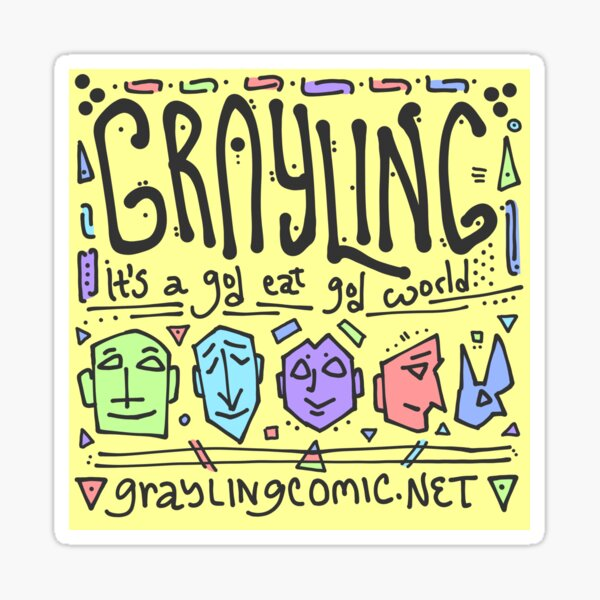 GRAYLING official sticker! Sticker