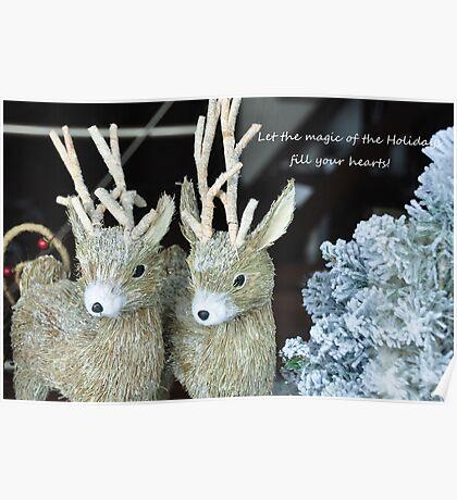 Reindeer games! Poster