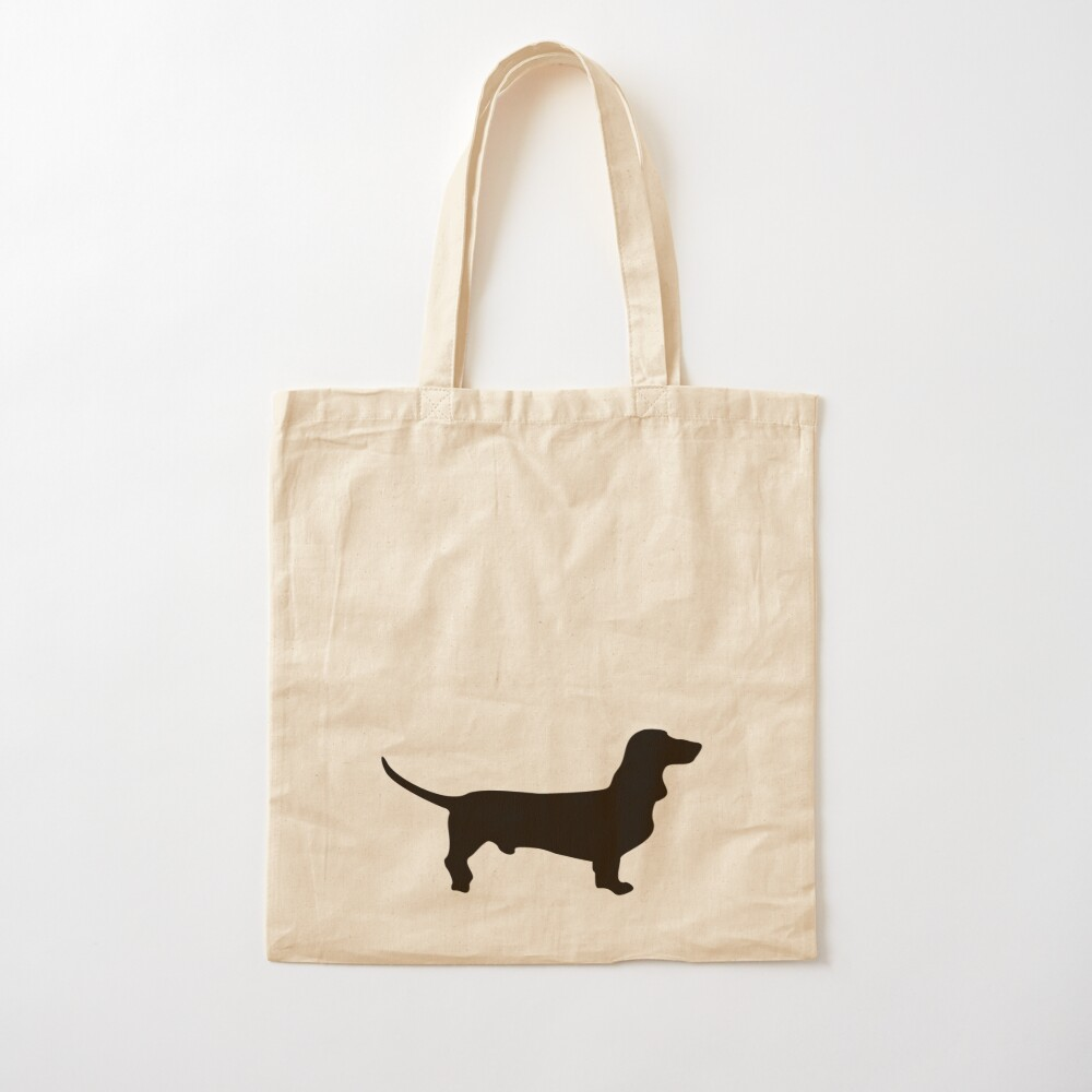 Sausage Dog Dachshund Weiner Dog Teckel Lightweight Reusable Shopping Bag Love