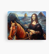 Mona in the Mountains, (glasshouse mountains) Canvas Print