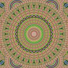 Magical Moments in Mauve Kaleidoscope by Charldia