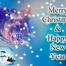 Baby's Christmas Card by Gail Bridger