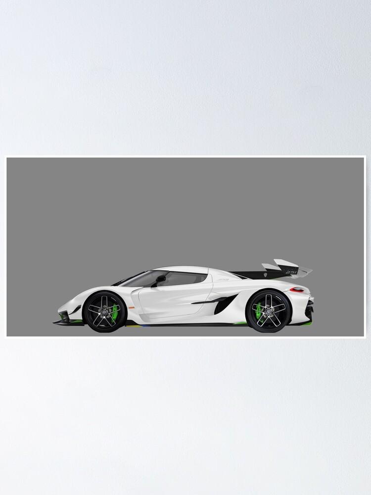 Alternate view of Koenigsegg Poster