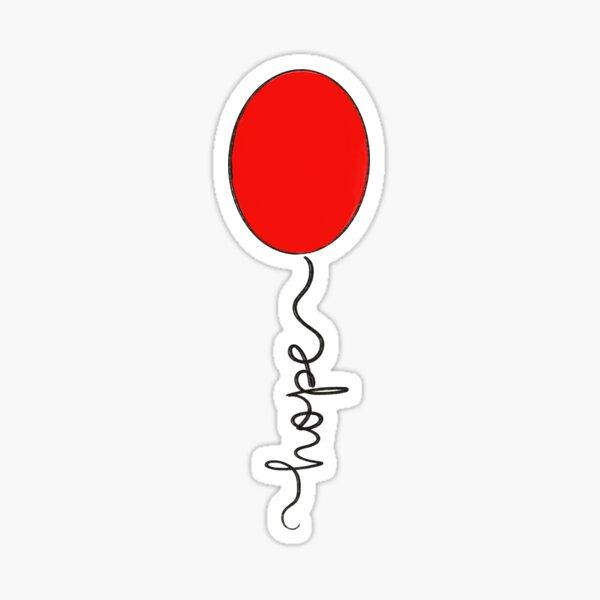 Hope Balloon Sticker