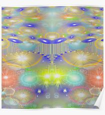 Abstract Celebration Poster