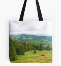 Hillside & Barn Tote Bag