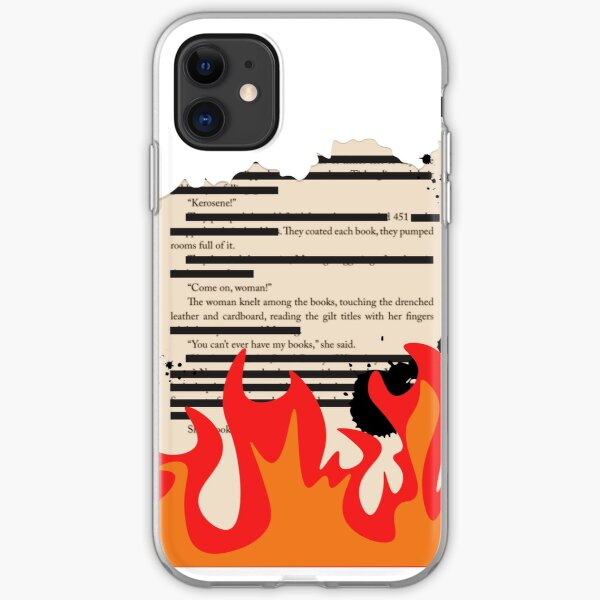 It was a pleasure to burn. iPhone Soft Case