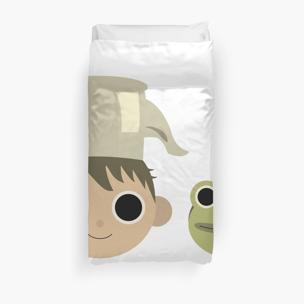 Greg and Jason Funderburker Duvet Cover