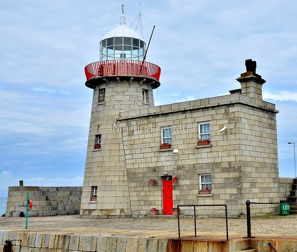 Howth Lighthouse by Martina Fagan