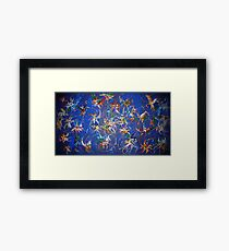 untitled painting Framed Print