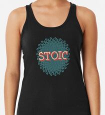 Stoic - The Joy of Being Racerback Tank Top