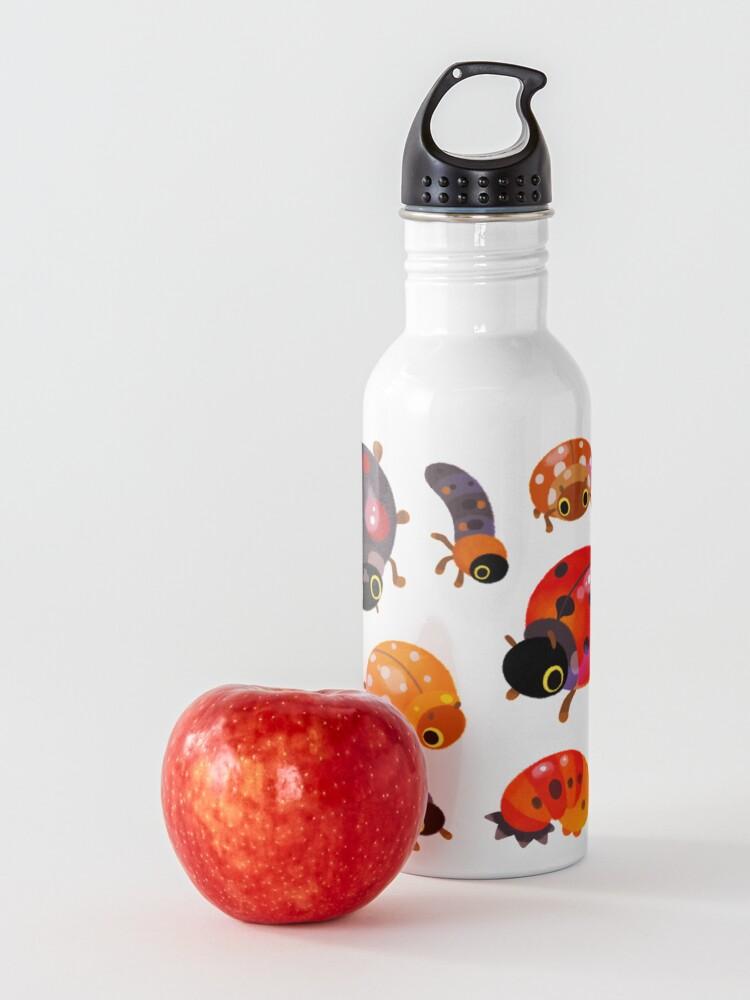 Alternate view of Lady beetles Water Bottle