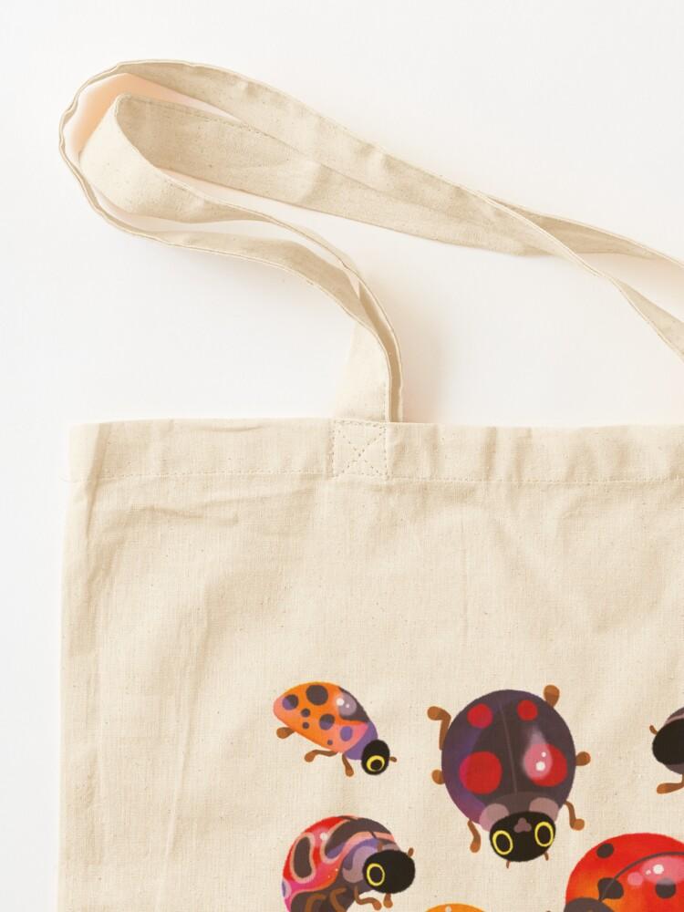 Alternate view of Lady beetles Tote Bag