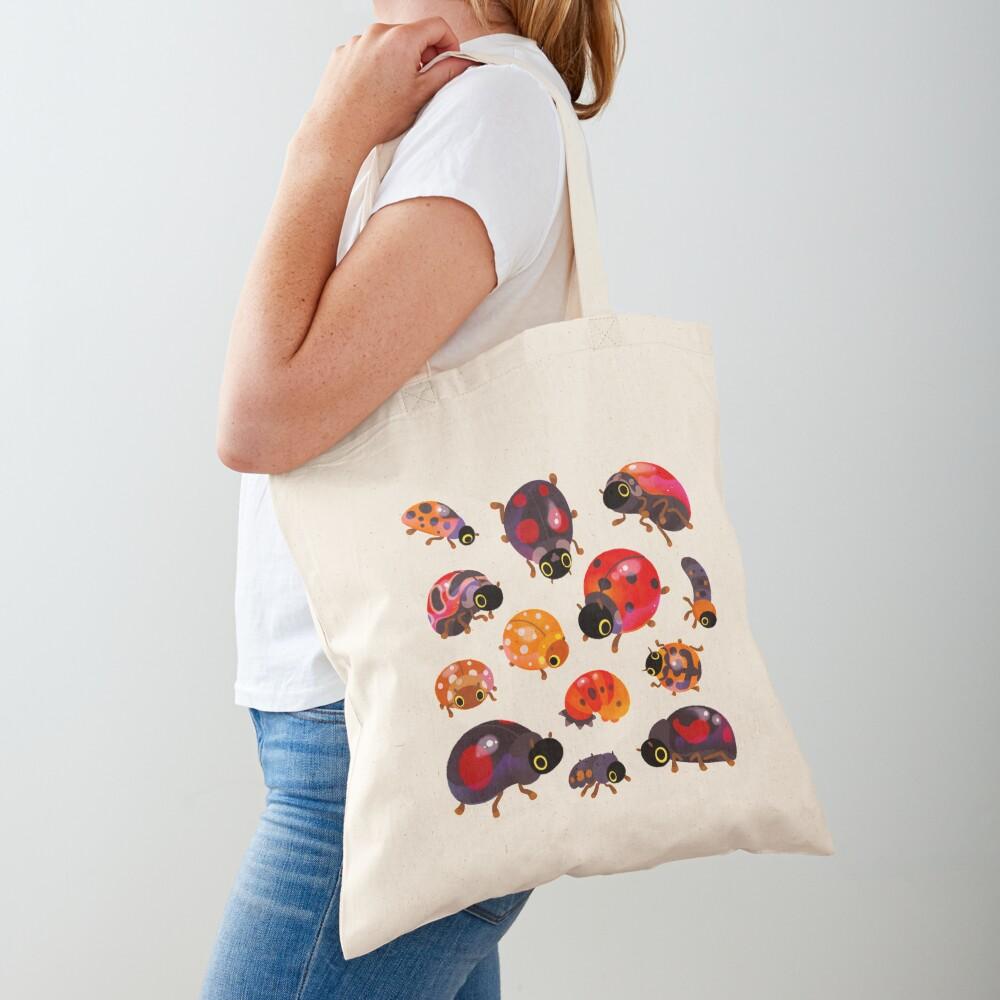 Lady beetles Tote Bag