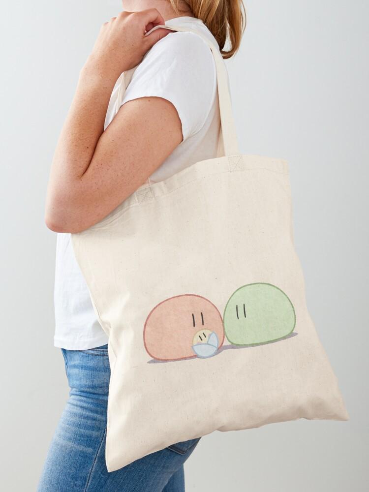 Clannad Dango Daikazoku Big Dango Family Tote Bag By Wabobabo