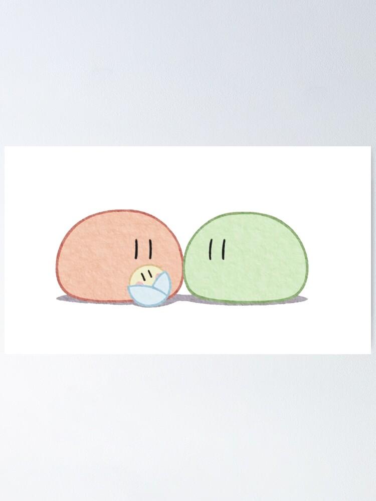 Clannad Dango Daikazoku Big Dango Family Poster By Wabobabo