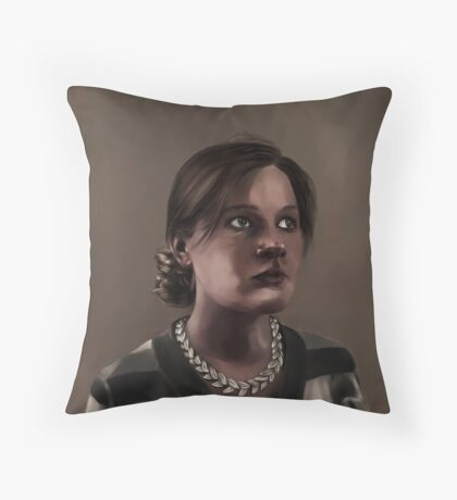 argument to the cudgel Throw Pillow