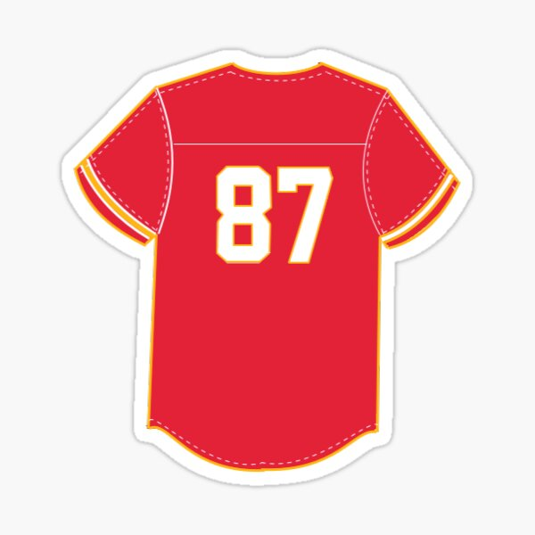 Kelce #87 Sticker