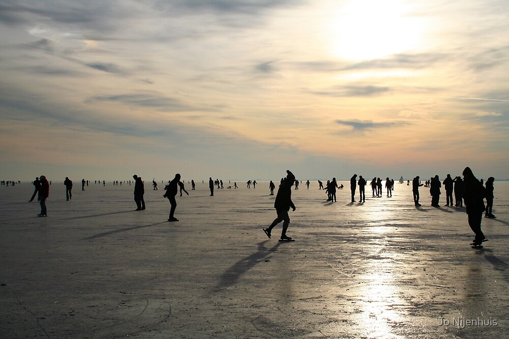 Ice Skating by Jo Nijenhuis
