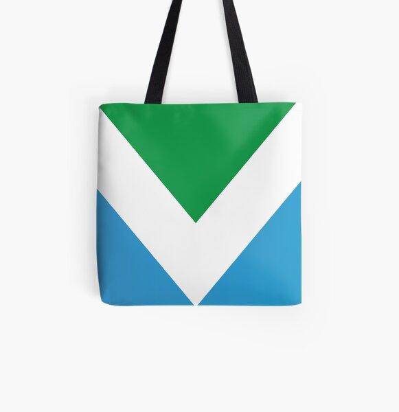 International Vegan Flag All Over Print Tote Bag