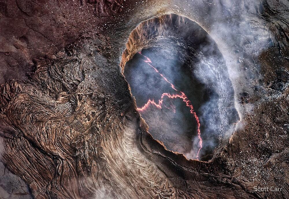 Molten Earth by Scott Carr