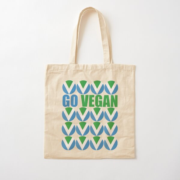 International Vegan Flag 2 Cotton Tote Bag