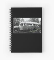 Magic bus Spiral Notebook