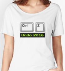 Undo 2016: Ctrl Z (PC) Relaxed Fit T-Shirt