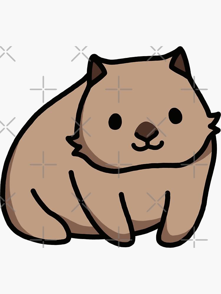 Wombat by littlemandyart