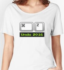 Undo 2016: Command ⌘ Z (Mac) Relaxed Fit T-Shirt