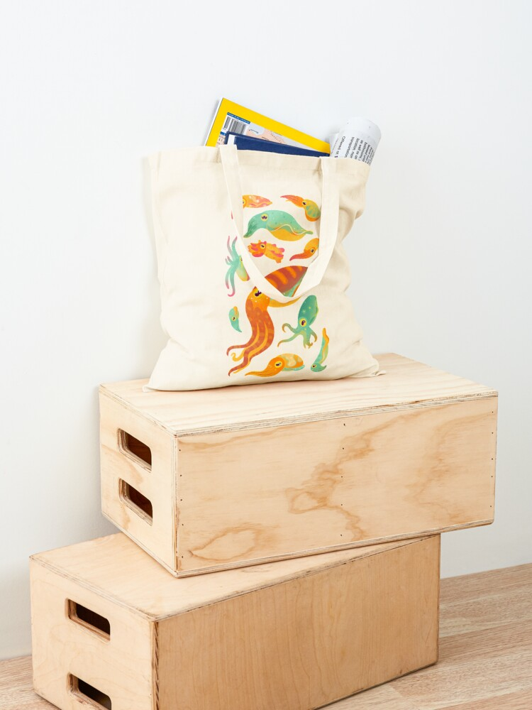 Alternate view of Cuttlefish Tote Bag