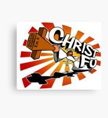 Christ Fu - Love Thy Unconscious Enemy Canvas Print