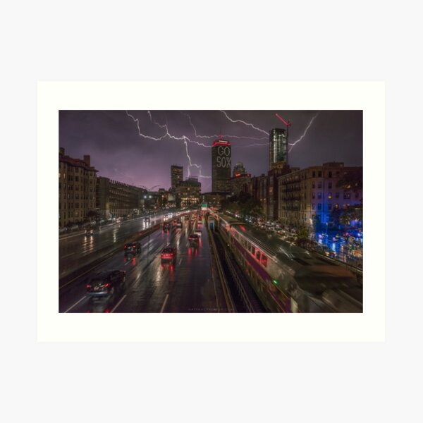 Back Bay, Boston. Art Print
