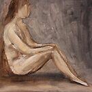 Sitting by Birgit Schnapp