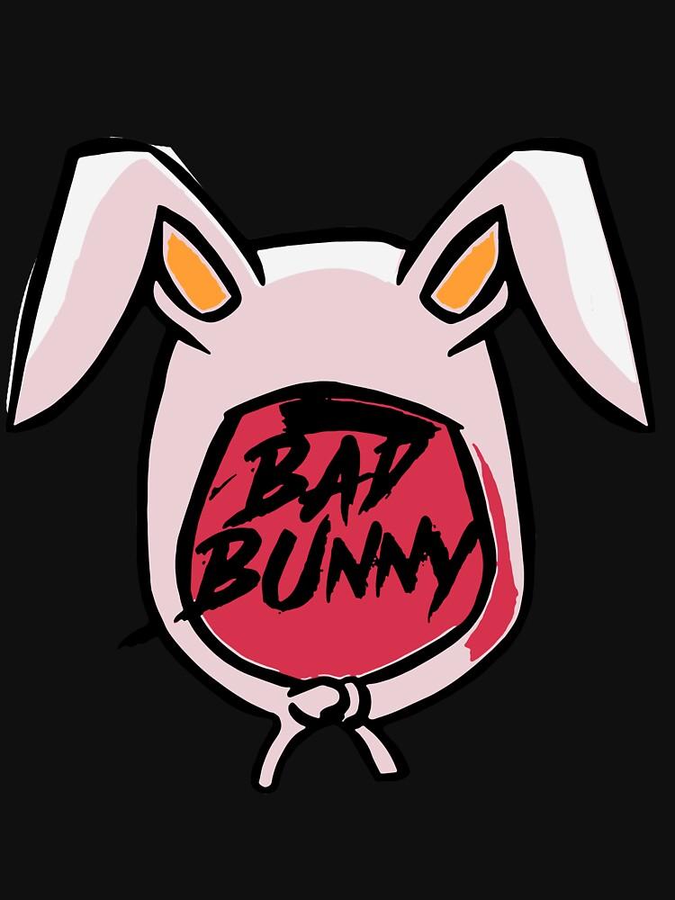 """Rabbit Bad Bunny Logo For Girls Mens Kids 2018"" T-shirt ..."