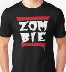 Run Zombies! On Black T-Shirt