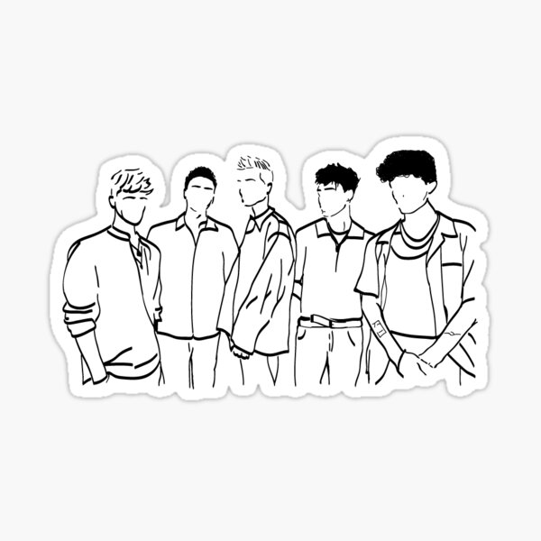 Why Don't We Doodle Sticker