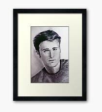 In black and white Framed Print