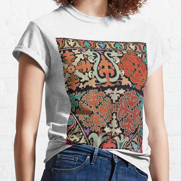 Tawlula T-Shirts, Kyrgyz felt carpet ala kiyiz (motley felt) Киргизский войлочный ковер ала-кийиз (пестрый войлок) Classic T-Shirt