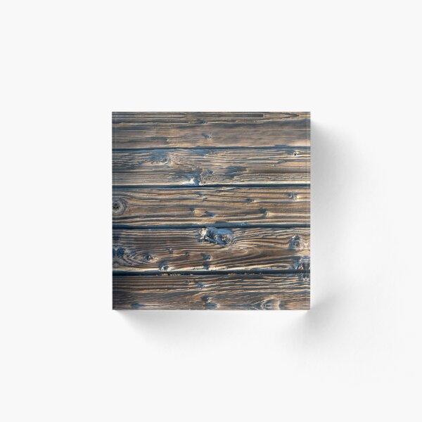 Yellowstone Lake Boardwalk Acrylic Block