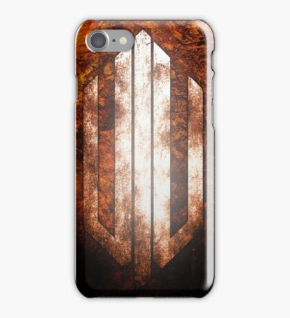 Intervoid Orange Crumpled Logo iPhone Case/Skin